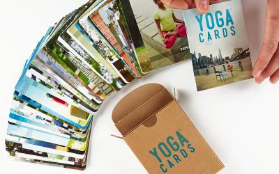 Yoga Cards, recursos para construir sesiones de yoga